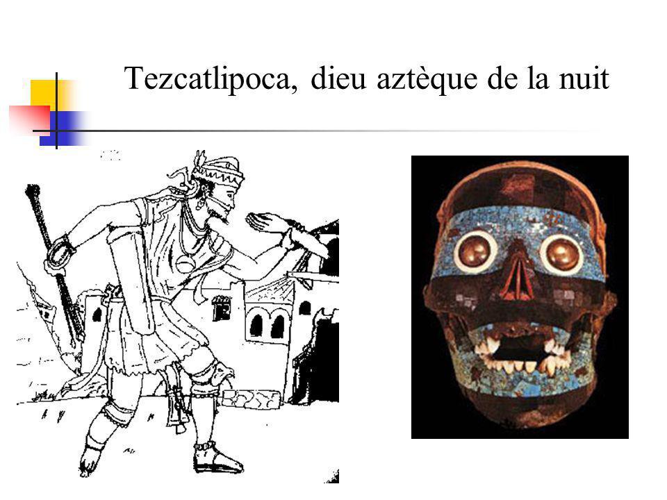 Tezcatlipoca, dieu aztèque de la nuit