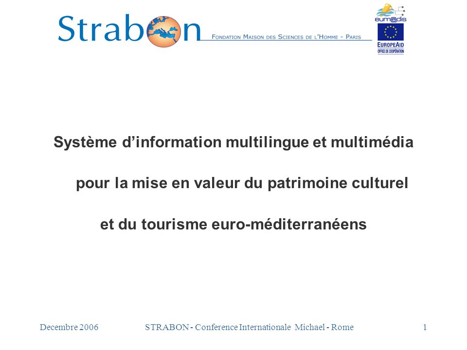 Système d'information multilingue et multimédia