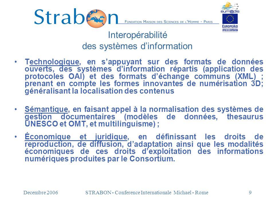 Interopérabilité des systèmes d'information