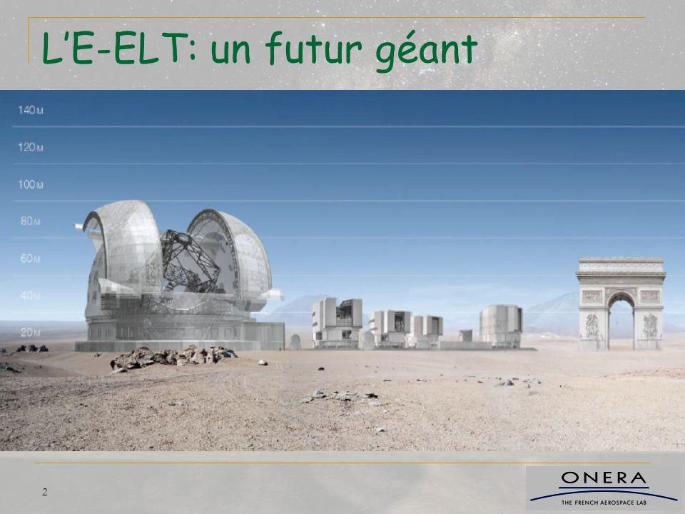 L'E-ELT: un futur géant