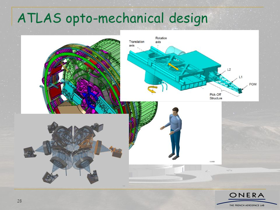 ATLAS opto-mechanical design