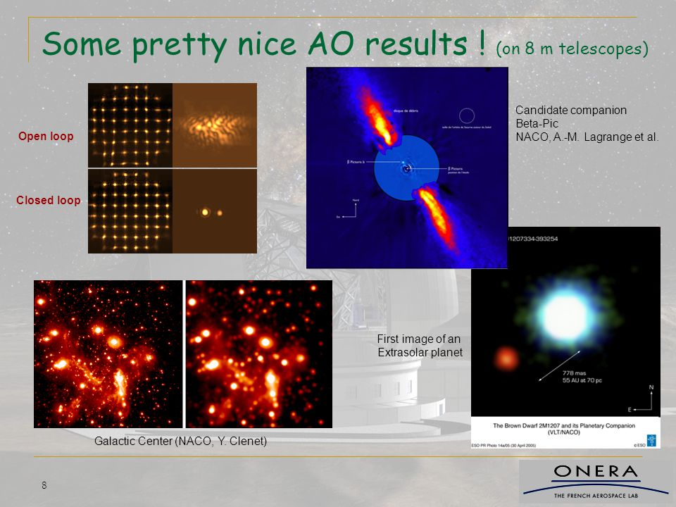 Some pretty nice AO results ! (on 8 m telescopes)