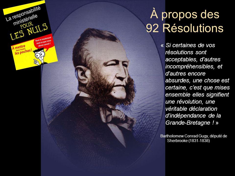 À propos des 92 Résolutions