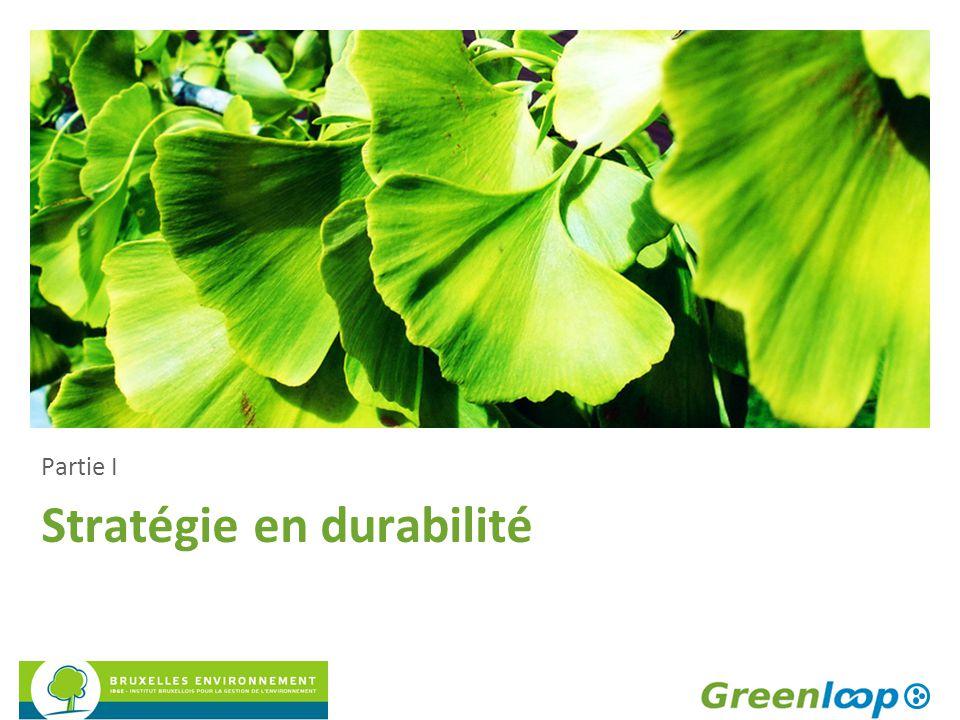 Stratégie en durabilité
