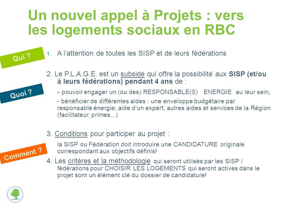 Un nouvel appel à Projets : vers les logements sociaux en RBC