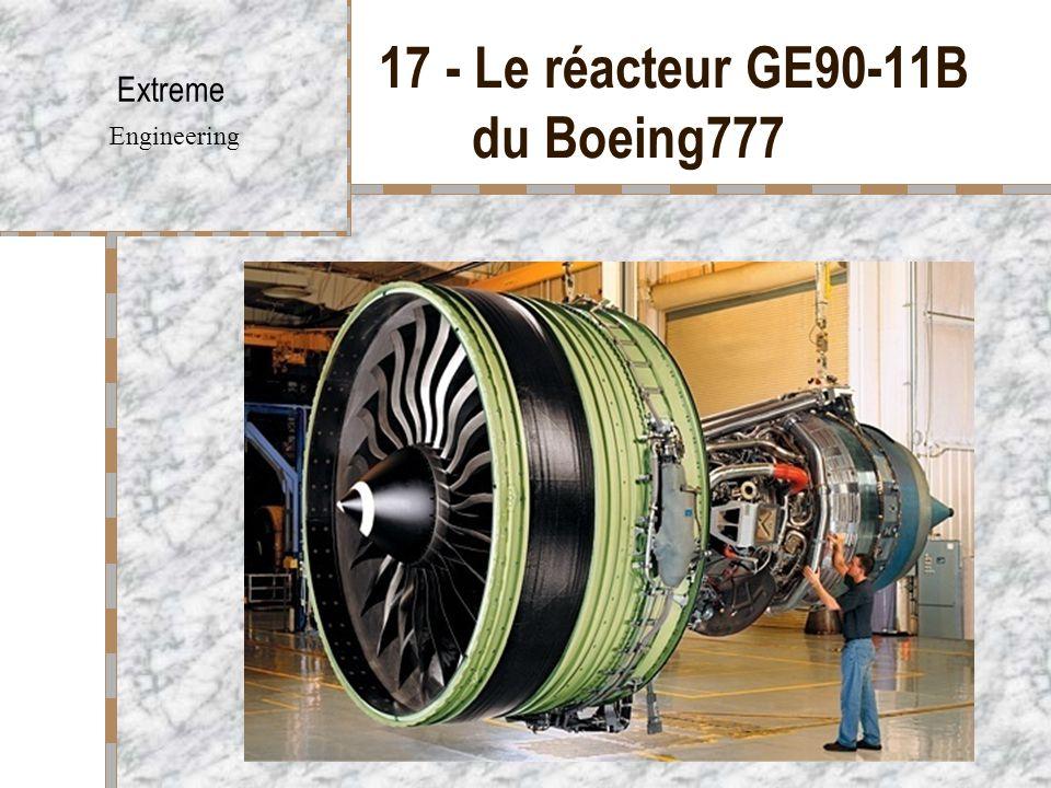 17 - Le réacteur GE90-11B du Boeing777
