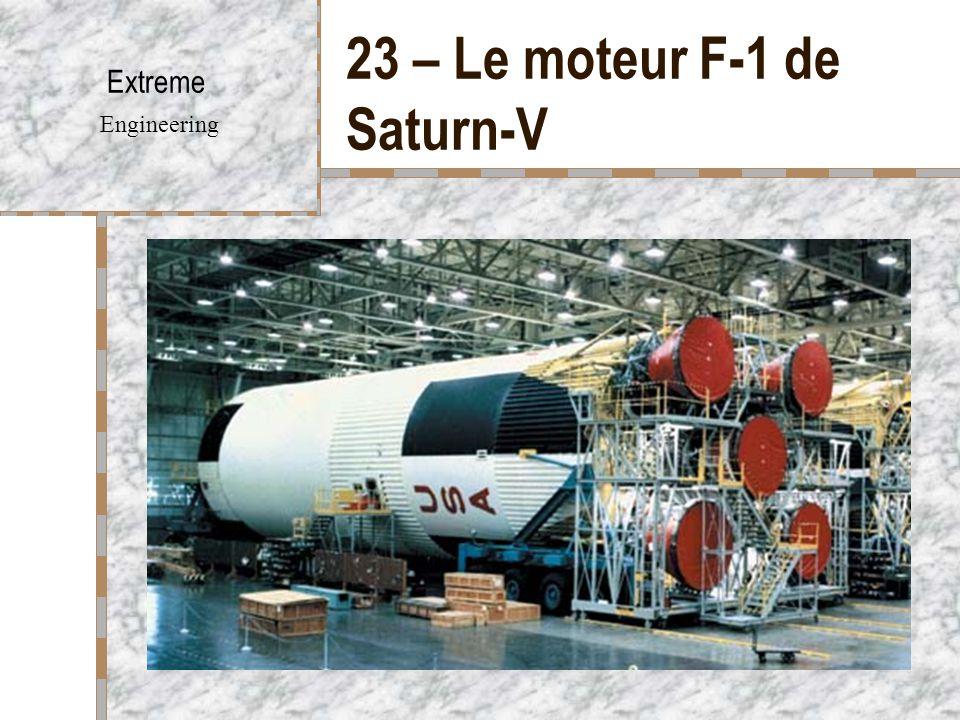 23 – Le moteur F-1 de Saturn-V