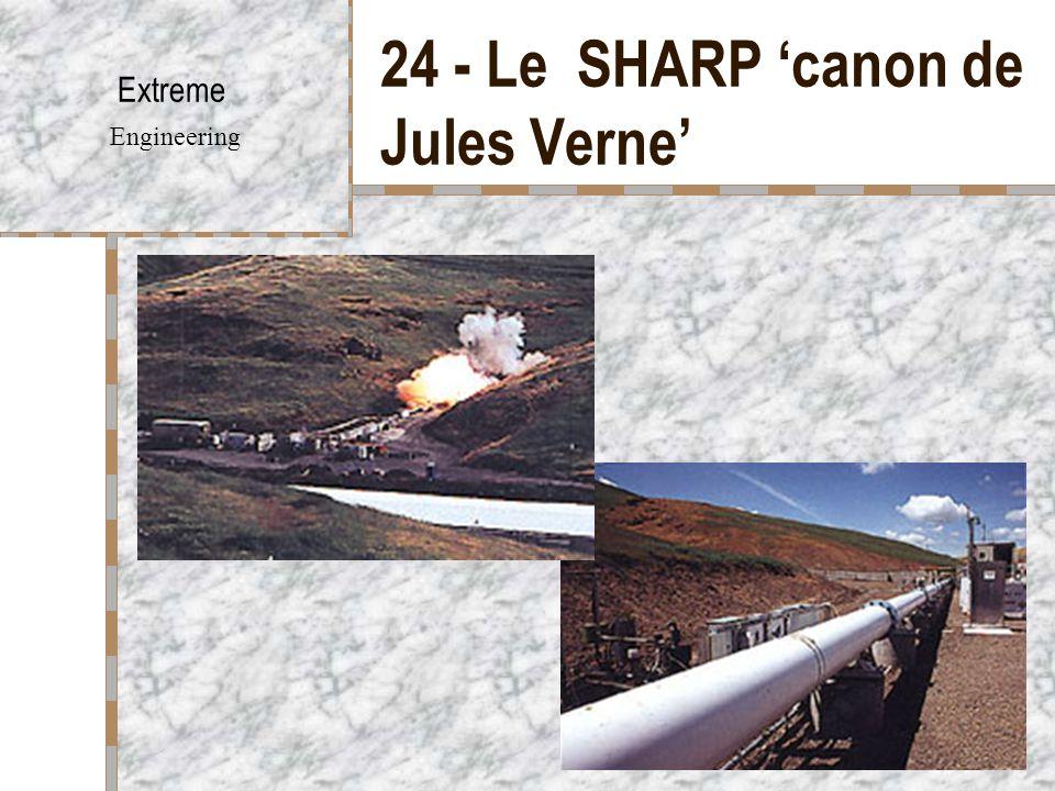 24 - Le SHARP 'canon de Jules Verne'