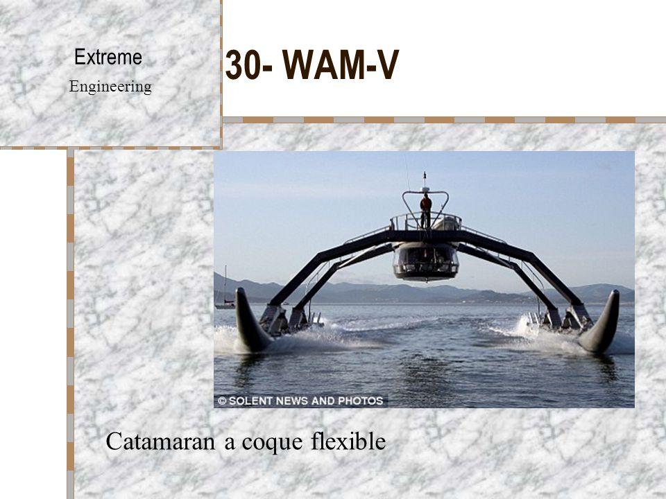 30- WAM-V Extreme Engineering Catamaran a coque flexible