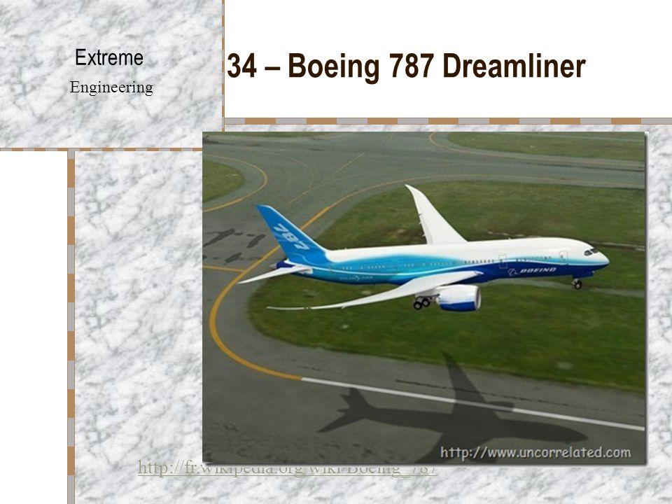 34 – Boeing 787 Dreamliner Extreme Engineering