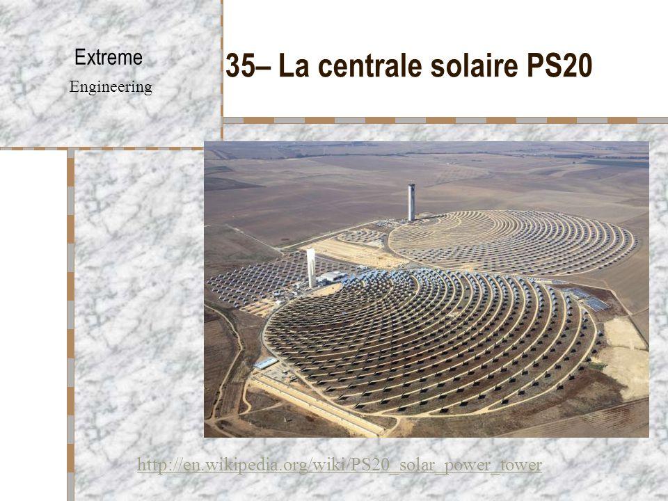 35– La centrale solaire PS20