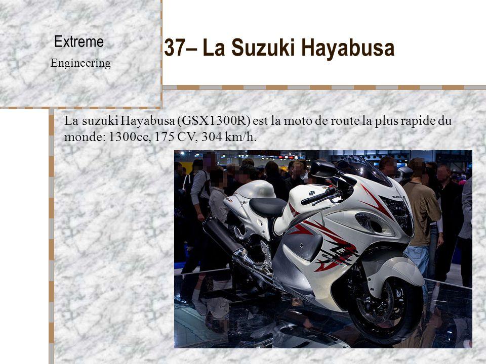 37– La Suzuki Hayabusa Extreme Engineering