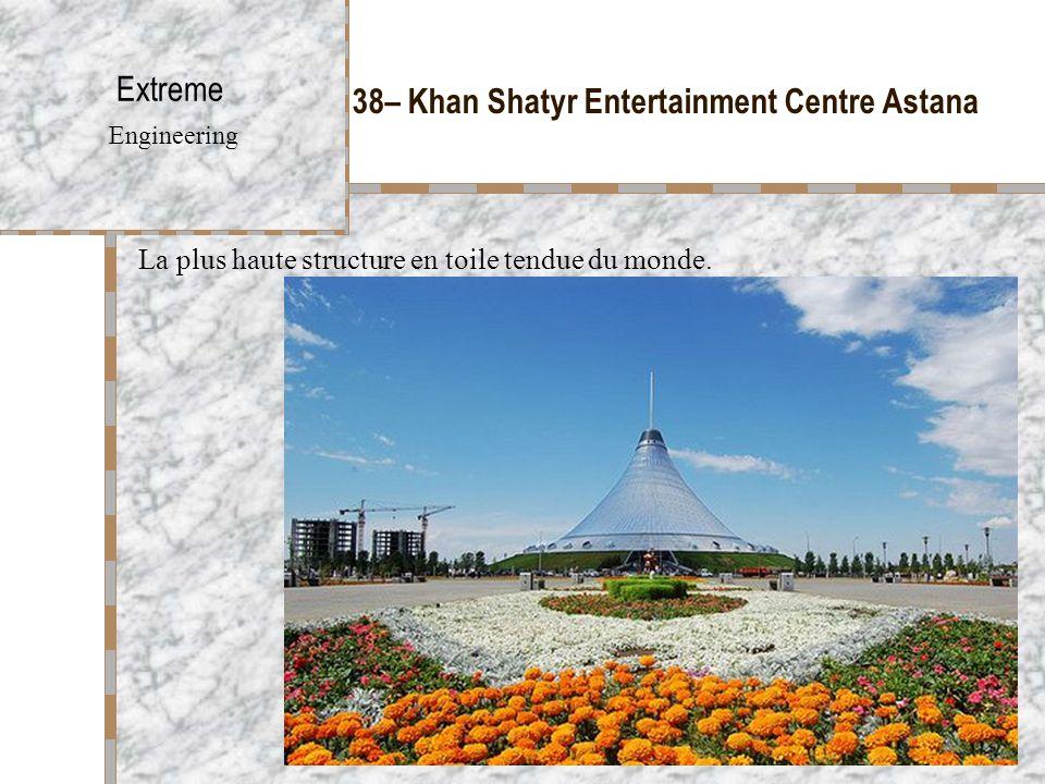 38– Khan Shatyr Entertainment Centre Astana