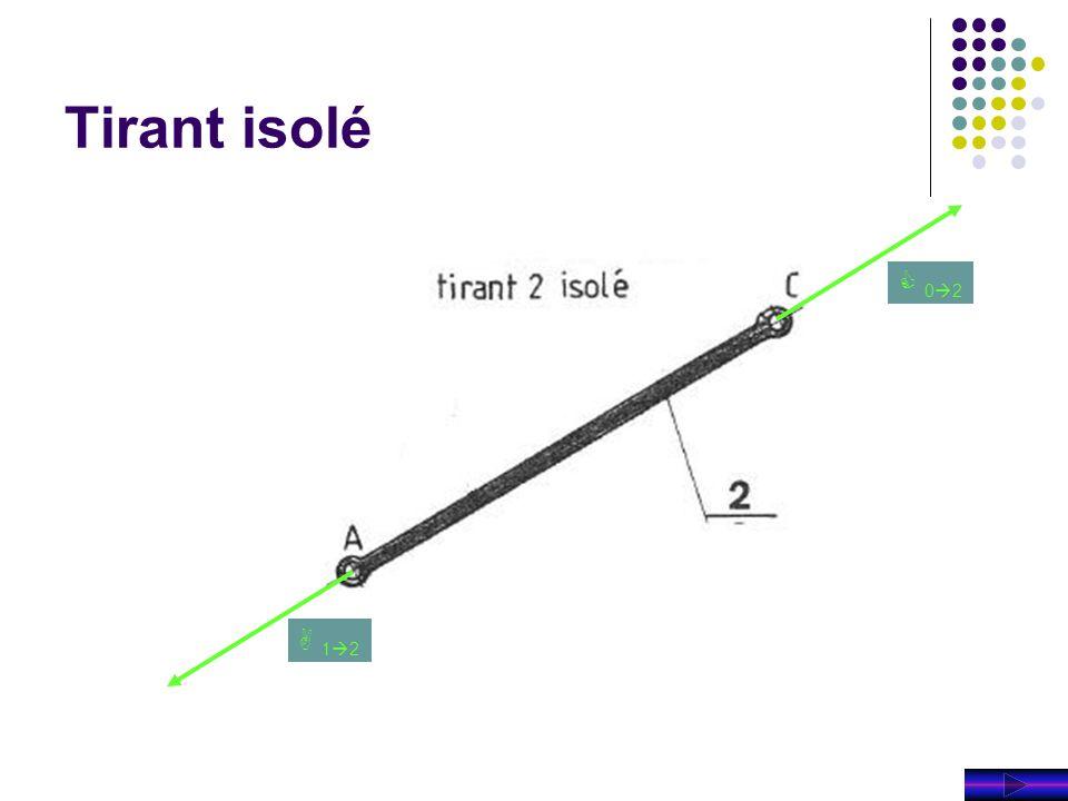 Tirant isolé C 02 A 12