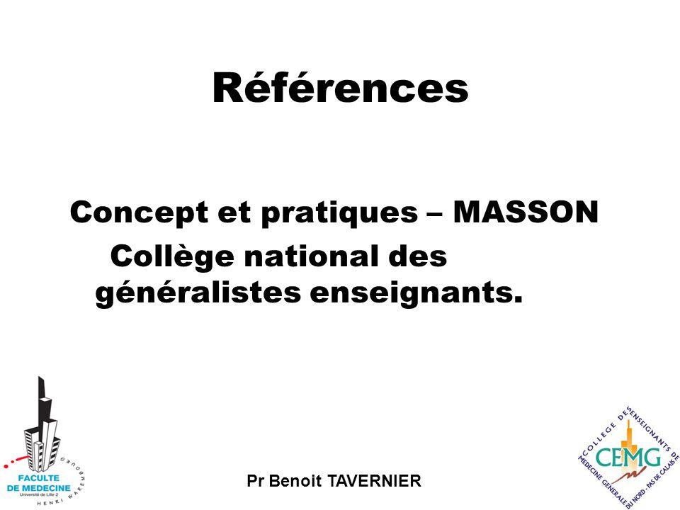 Références Concept et pratiques – MASSON