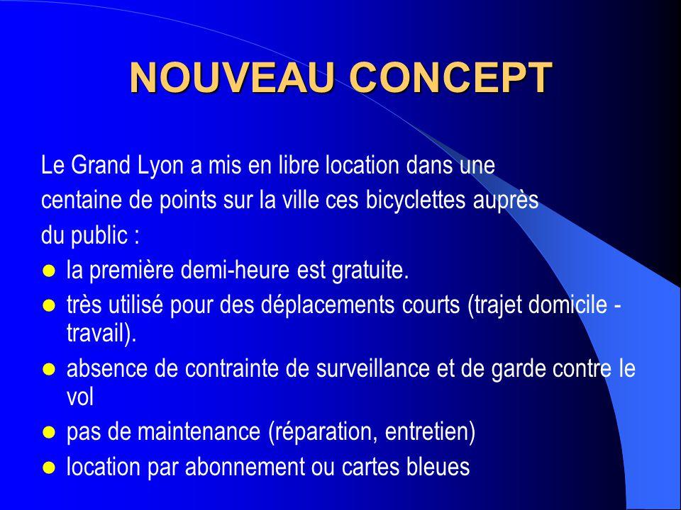 NOUVEAU CONCEPT Le Grand Lyon a mis en libre location dans une