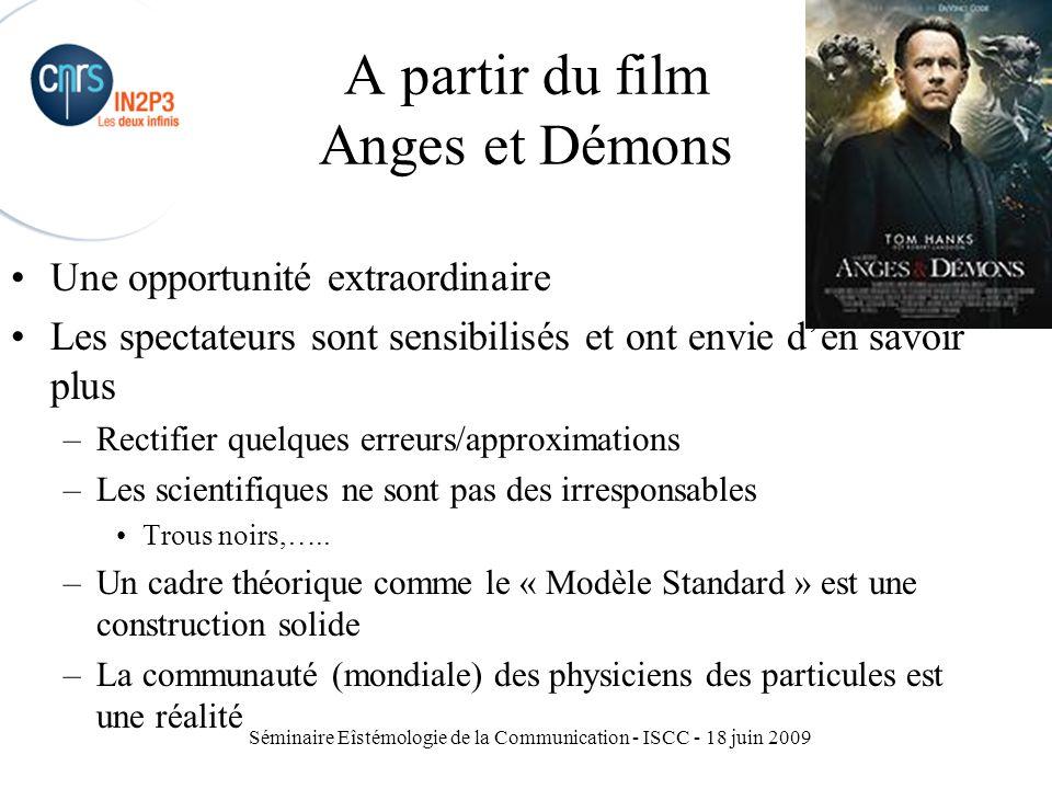 A partir du film Anges et Démons