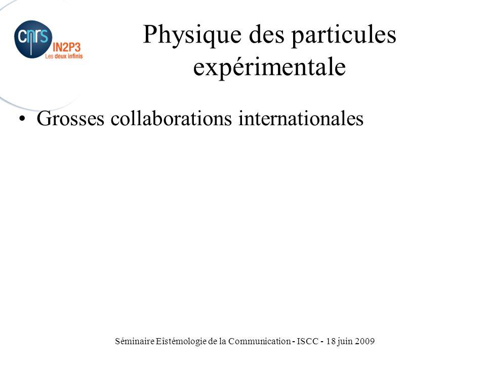 Physique des particules expérimentale