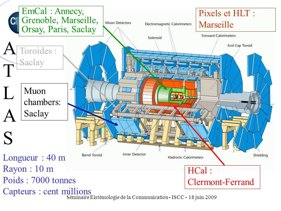 Séminaire Eîstémologie de la Communication - ISCC - 18 juin 2009
