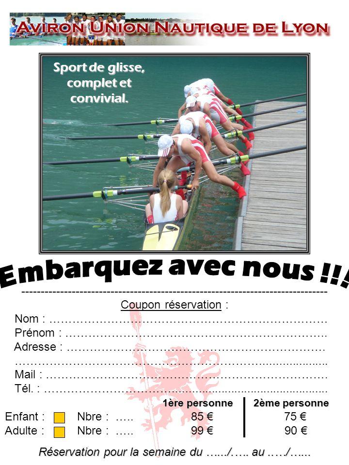 Embarquez avec nous !!! Sport de glisse, complet et convivial.