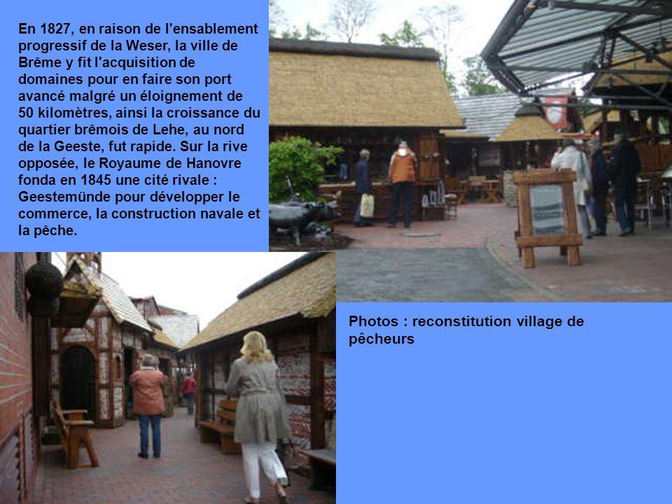 Photos : reconstitution village de pêcheurs