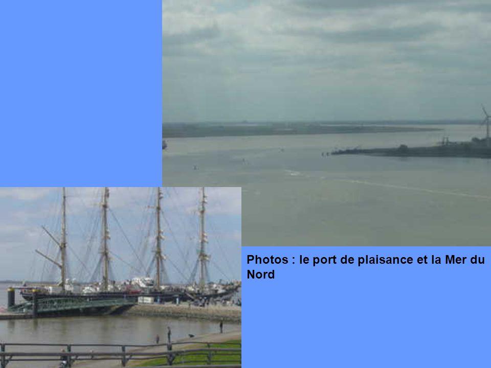Photos : le port de plaisance et la Mer du Nord