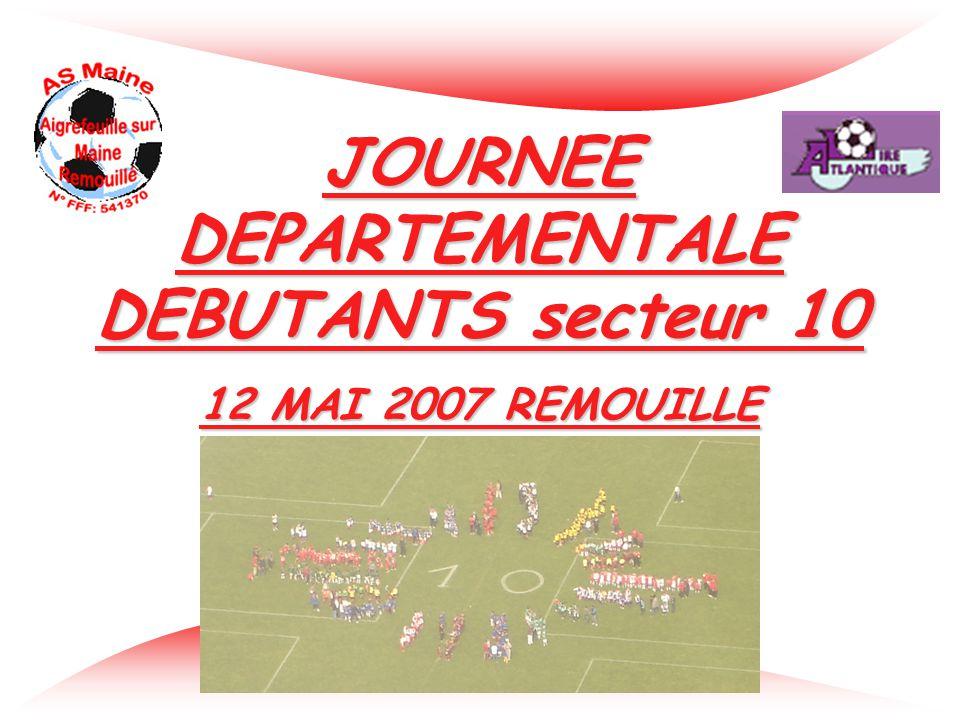 JOURNEE DEPARTEMENTALE DEBUTANTS secteur 10