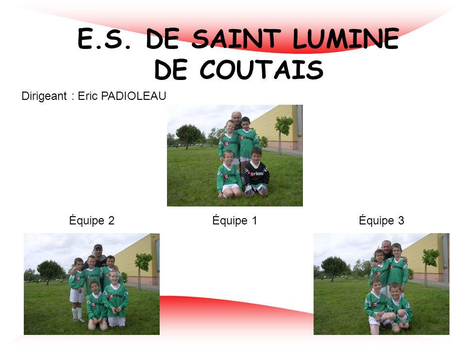 E.S. DE SAINT LUMINE DE COUTAIS