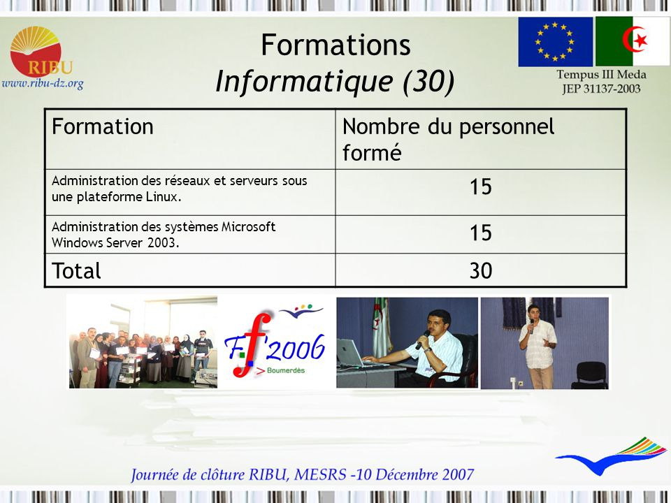 Formations Informatique (30)