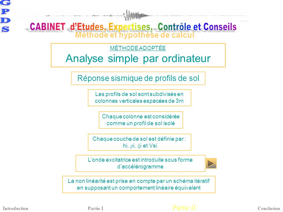 Analyse simple par ordinateur