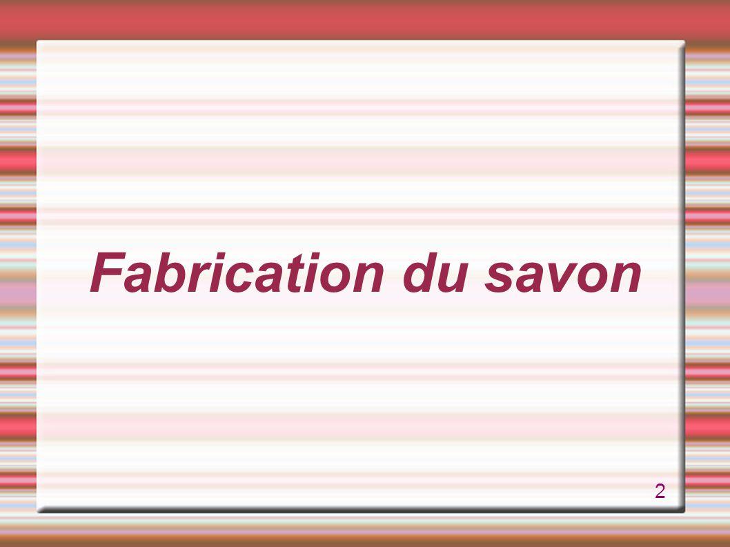 Fabrication du savon 2