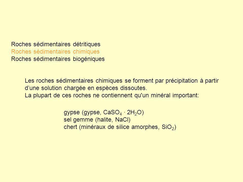 Roches sédimentaires détritiques