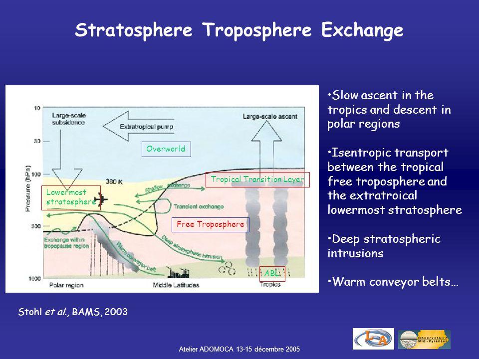 Stratosphere Troposphere Exchange