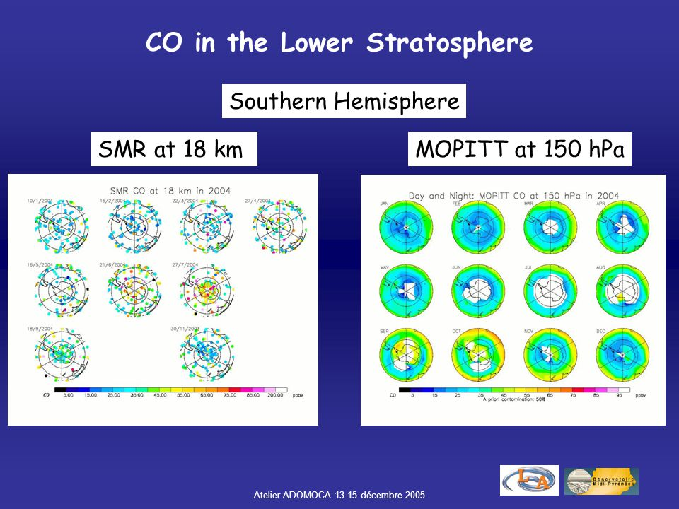 CO in the Lower Stratosphere