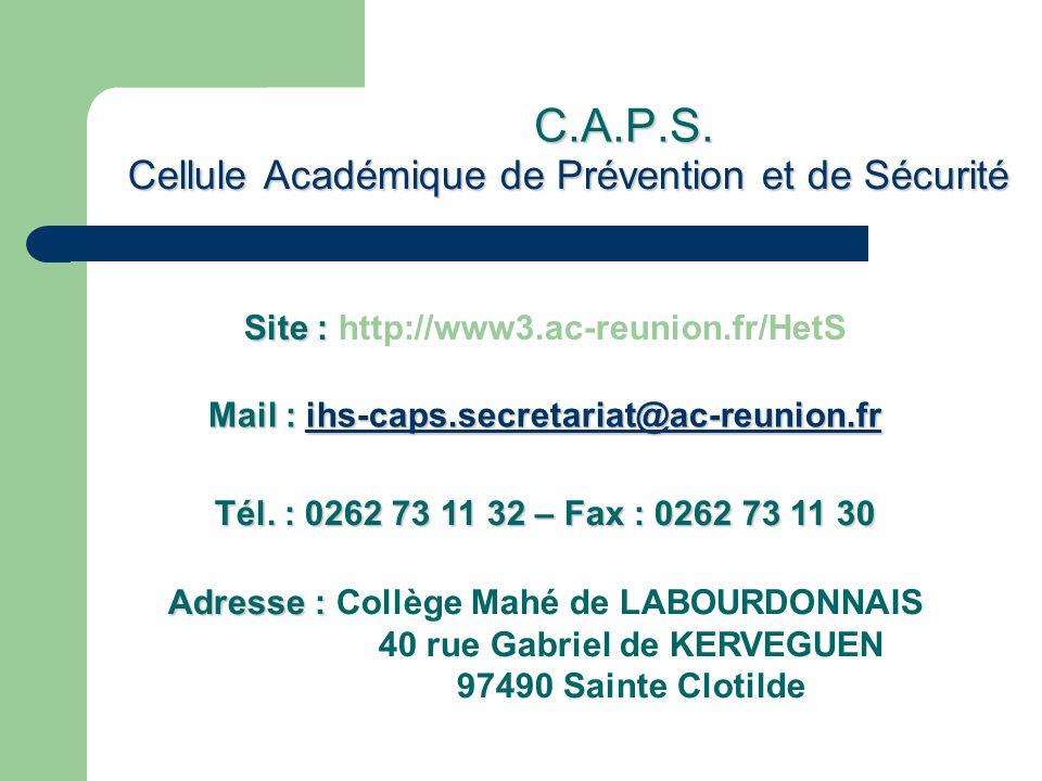 Cellule Académique de Prévention et de Sécurité