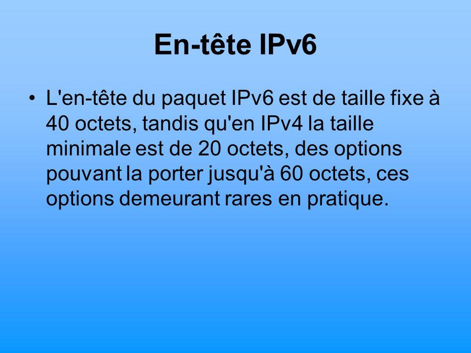 En-tête IPv6