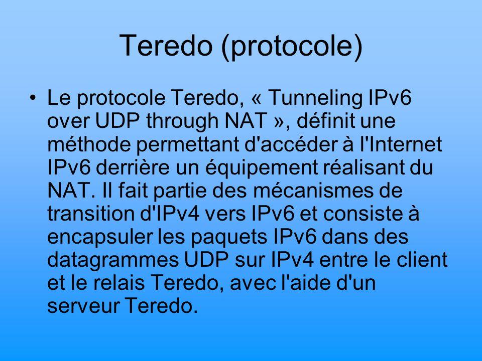 Teredo (protocole)