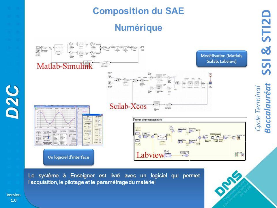 Composition du SAE Numérique