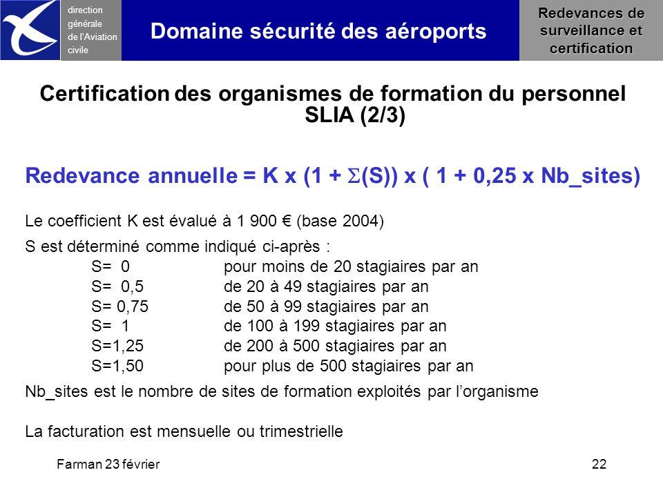 Domaine sécurité des aéroports