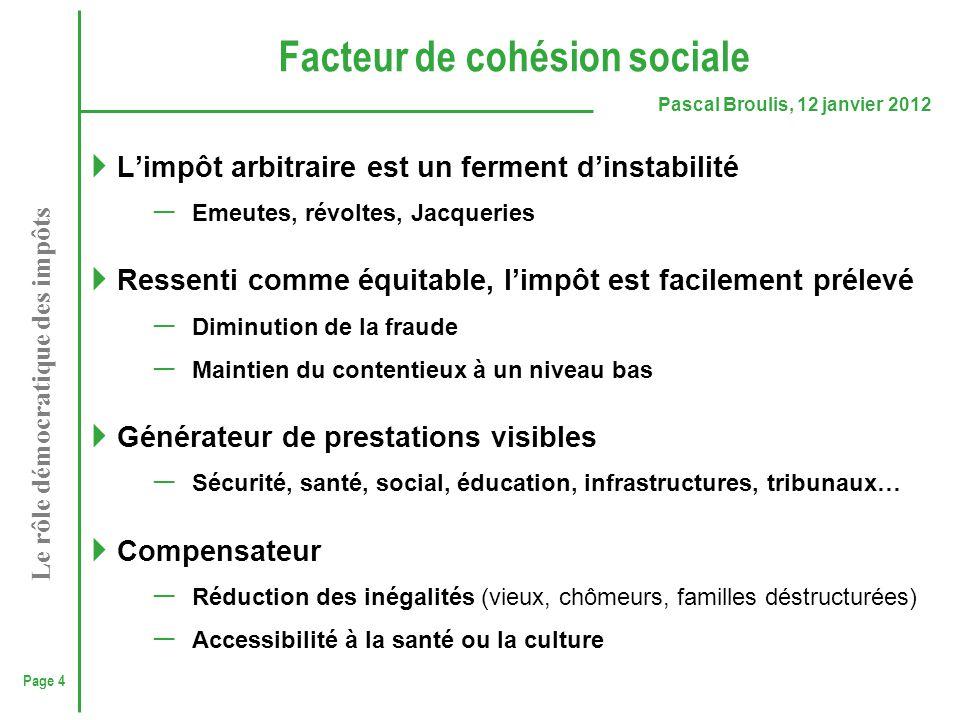 Facteur de cohésion sociale