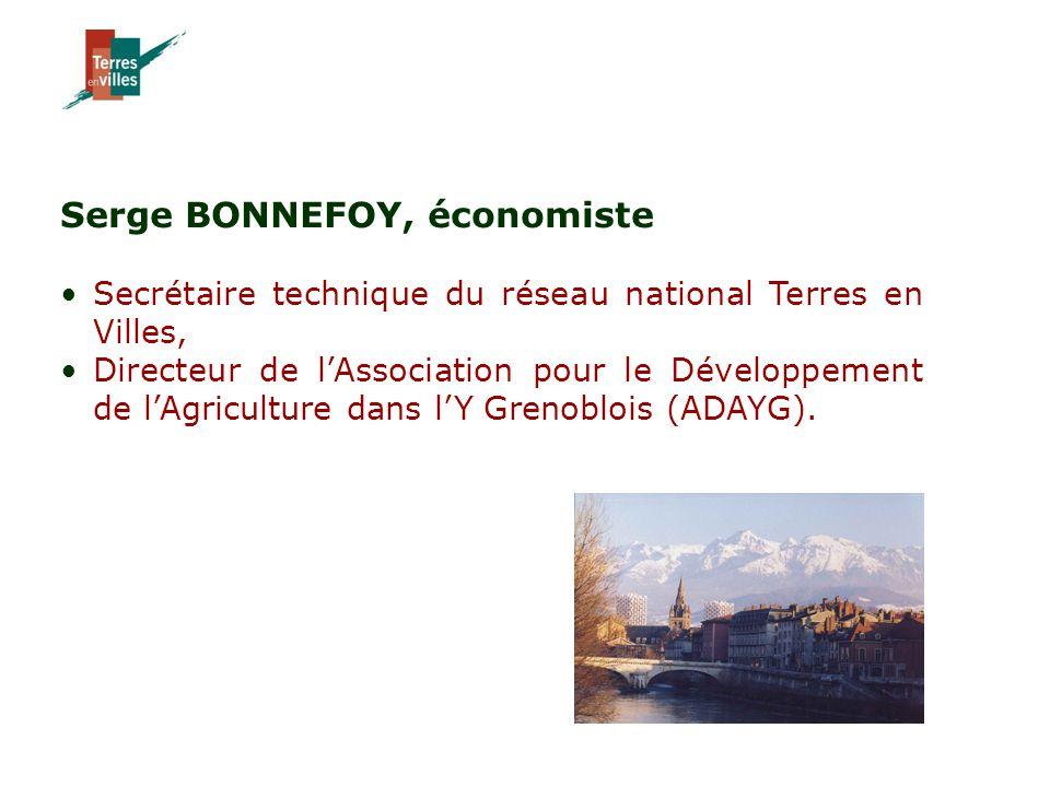Serge BONNEFOY, économiste