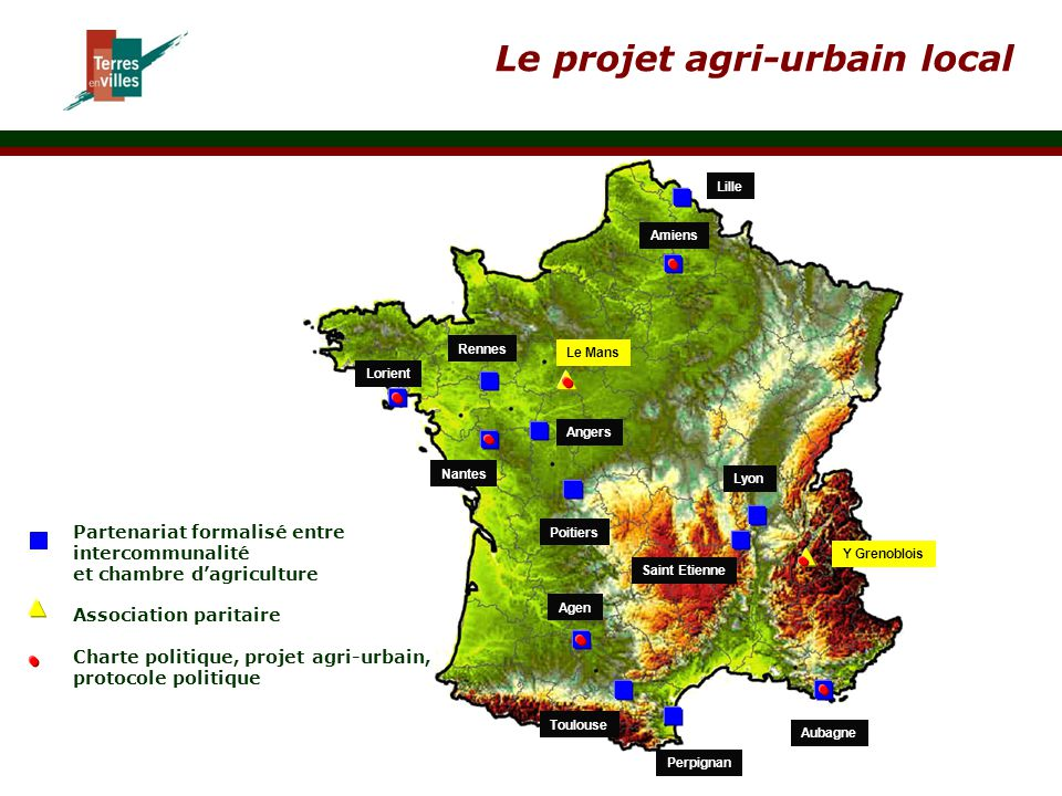 Le projet agri-urbain local