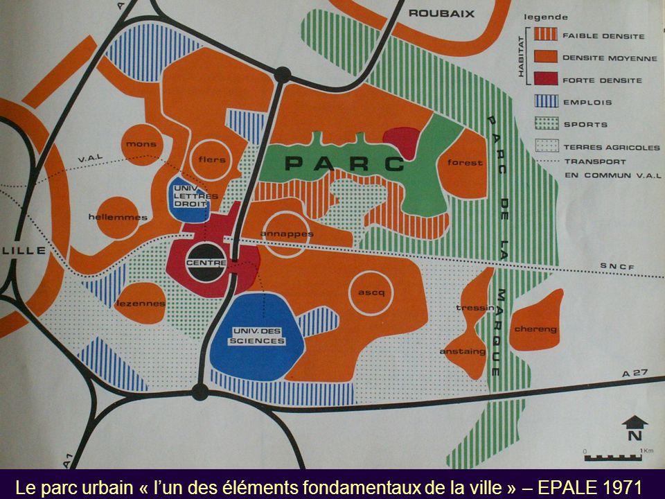 Le parc urbain « l'un des éléments fondamentaux de la ville » – EPALE 1971