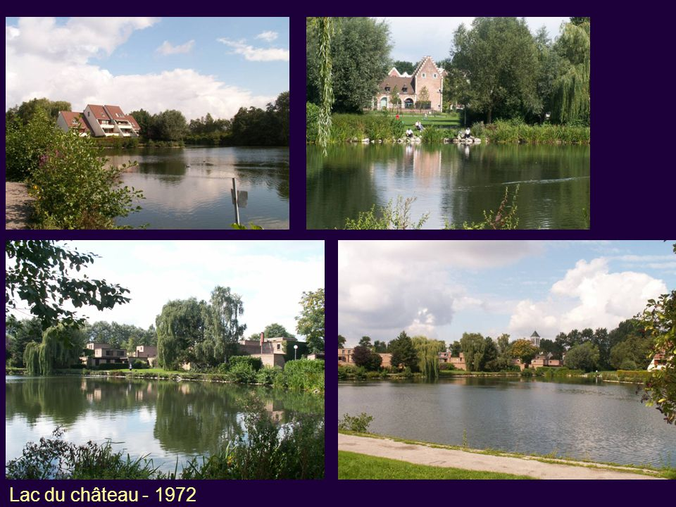 Lac du château - 1972