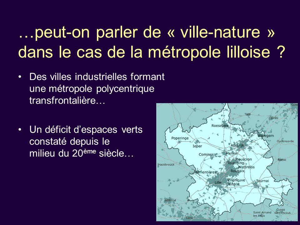 …peut-on parler de « ville-nature » dans le cas de la métropole lilloise