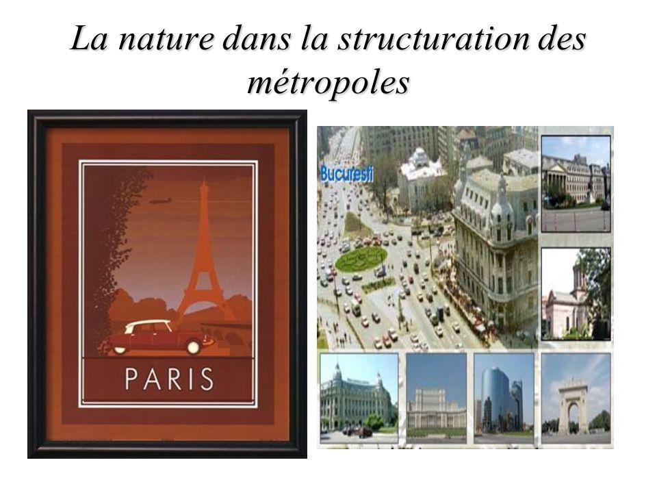 La nature dans la structuration des métropoles