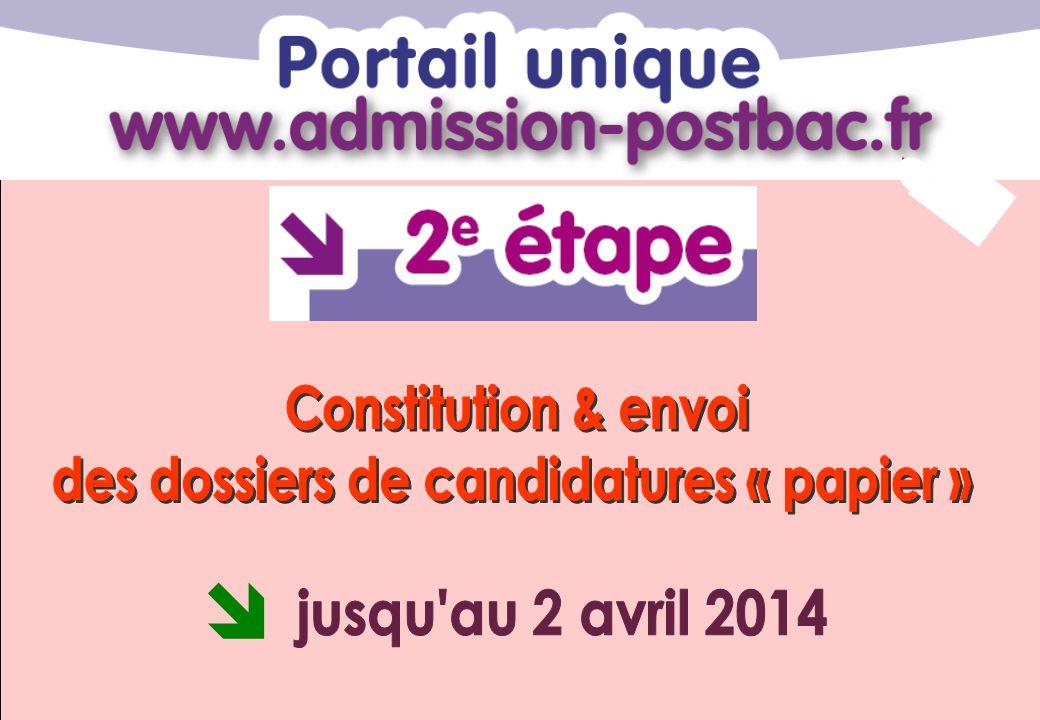 des dossiers de candidatures « papier »