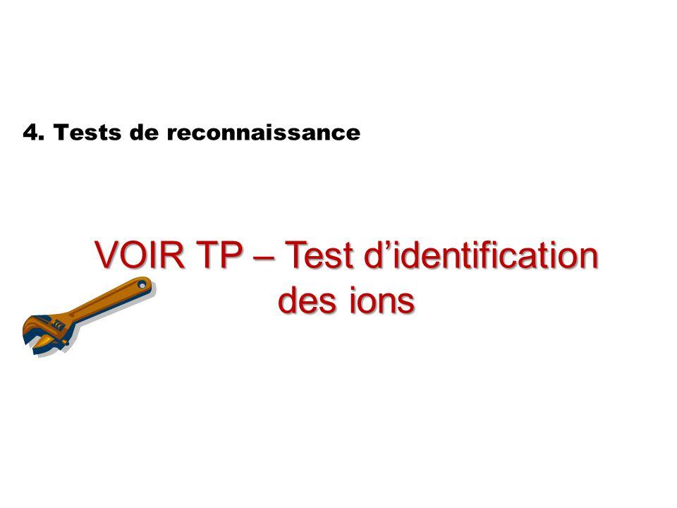 4. Tests de reconnaissance
