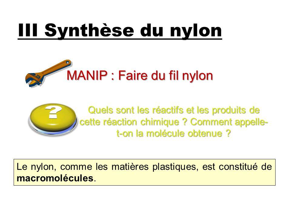 MANIP : Faire du fil nylon