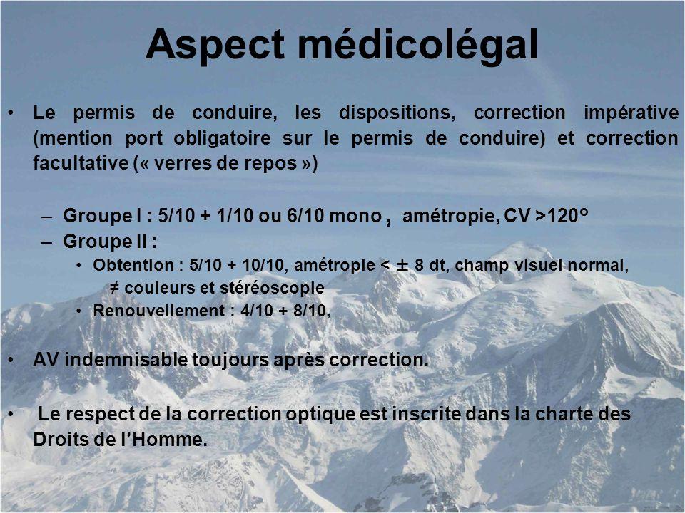 Aspect médicolégal